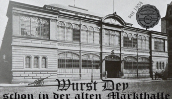 Markthalle Frankfurt, alte Markthalle