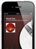 iPhone, App Metzger, Wurst Dey App