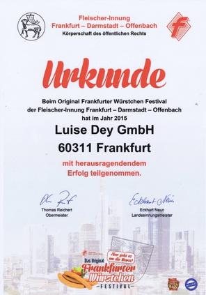 einer der besten Frankfurter Würstchen in Frankfurt, Sprendlingen, Götenhain