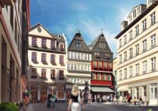 Altstadt Frankfurt Liebfrauenberg Römer