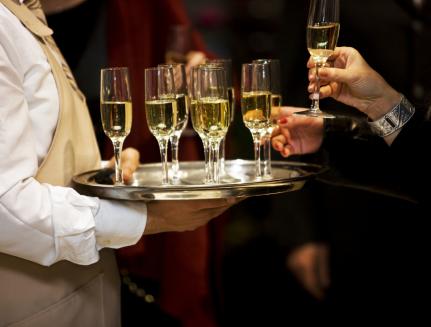 Sektempang Hochzeit Römer Frankfurt